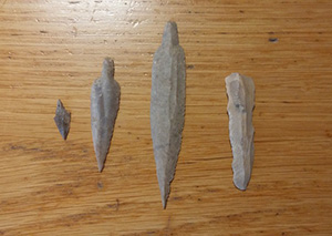 Кремневые орудия эпохи неолита