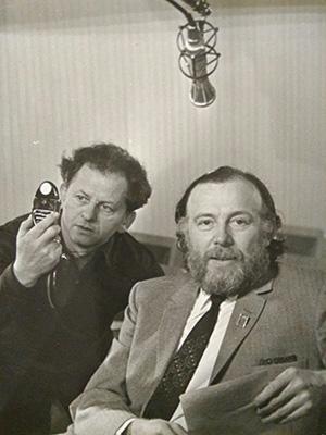 Натан Ширман и Иннокентий Смоктуновский