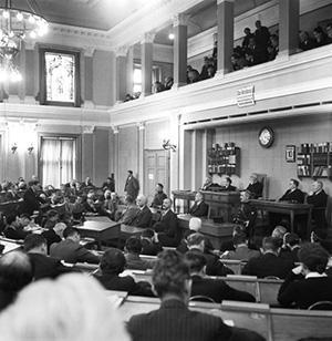 Заседание суда по делу Франкфуртера