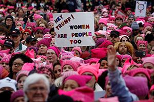 Марш женщин против Трампа