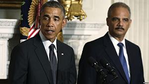 Обама и Холдер готовы вернуться для борьбы с Трампом