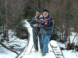 Азарий Мессерер и Александр Матлин (справа)