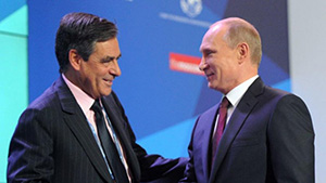 Во Франции Путин, очевидно, ставил на Фийона