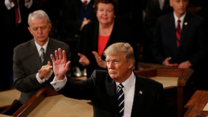 Выступление Дональда Трампа в Конгрессе