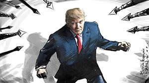 «Медовый» месяц президента США (шарж РИА Новости)