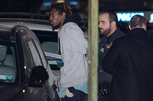 Барри Джеймса арестовали  на месте преступления