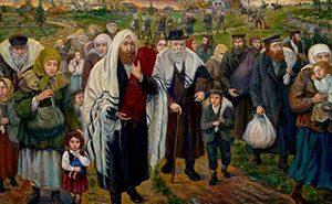 Изгнание евреев.  Фото: thegathering.com