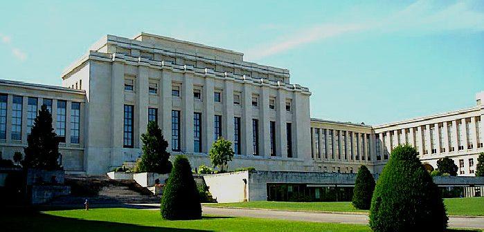 Дворец Наций в Женеве, где заседала Лига. Ныне - здание ООН