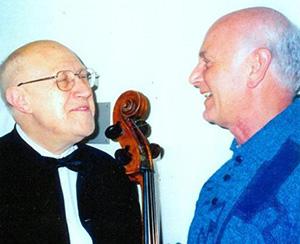С Мстиславом Ростроповичем