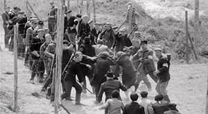 Евреи перед расстрелом