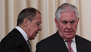 Сергей Лавров иРекс Тиллерсон после переговоров