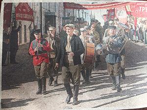 Кадр из кинофильма «Шагал– Малевич»