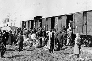 По дороге в Освенцим