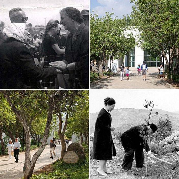 Аллея Праведников народов мира была заложена в Яд Вашем 1 мая 1962 г.