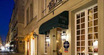 Отель «Лютеция», служебный вход