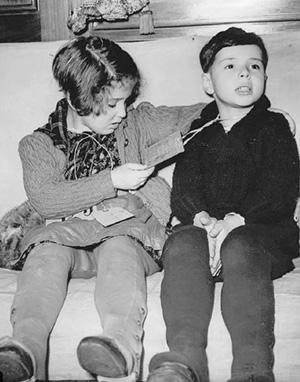 Еврейские дети из Германии, прибывшие вАнглию после «Хрустальной ночи»
