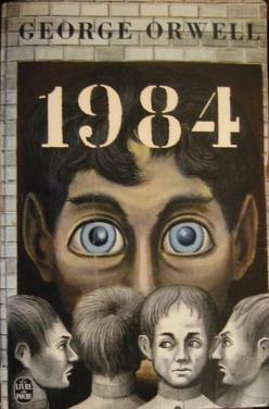 Обложка романа Оруэлла «1984»