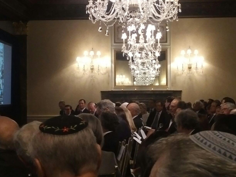 В зале заседаний глобальных форумов американского еврейства, июнь 2017 г.