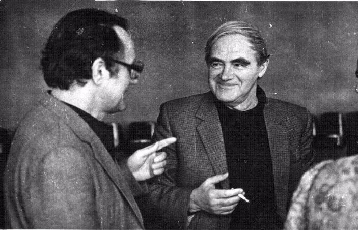 Даниил Гранин и Алесь Адамович — авторы «Блокадной книги». Фото из личного архива Д.Гранина