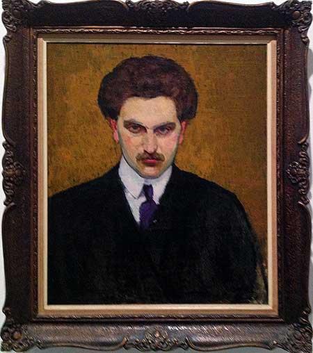 Портрет Михаила Цетлина. Неизвестный художник