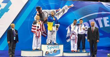 Украинские победители Маккабиады в Израиле. Фото: Игорь Левенштейн