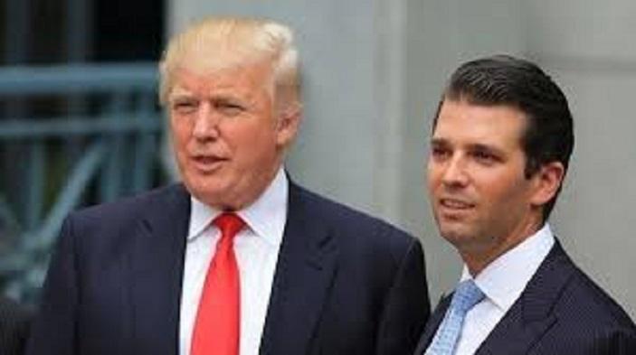 Отец и сын Трампы