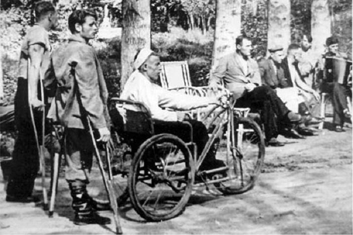 Инвалиды сосланные на остров Валаам