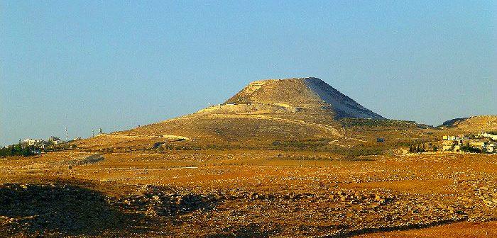 Еврейские поселки в районе горы Геродион в Иудее