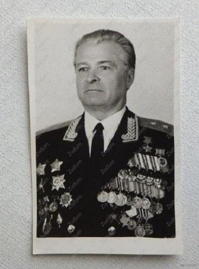 Освободитель Освенцима В. Я. Петренко
