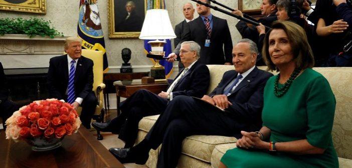 Trump meets Congressional leaders in Washington
