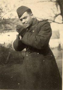 Mладший лейтенант Рабинович Леонид Наумович