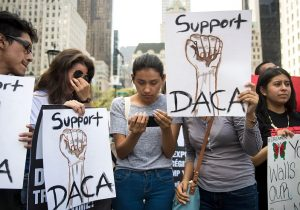 DACA protest in New York
