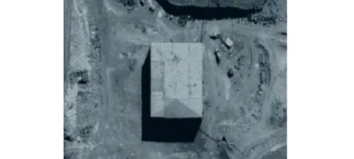 Крупное помещение на военной базе возле Дир аз-Зура, в полутораста километрах от границы с Ираком