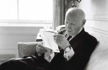 Isaac Bashevis Singer At Home