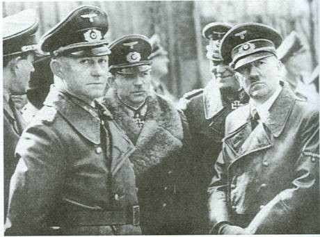 Мюллер, Гудериан и Гитлер