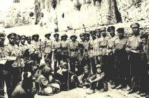1917 г. Военнослужащие Еврейского Легиона британской армии в освобожденном от турок Иерусалиме, возле Стены плача