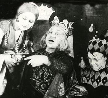 Михоэлс и Зускин в «Короле Лире»