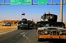 Иракские войска занимают территорию, контролируемую курдами