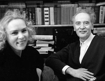 Лев Ландау с женой Корой