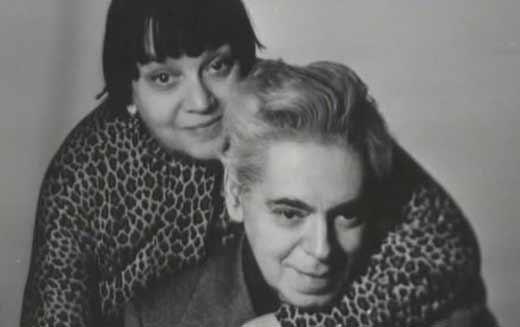 В жизни и на сцене — всегда вместе. Аркадий Райкин с женой, актрисой Руфью Иоффе