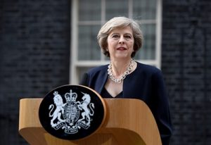 Тереза Мэй, премьер-министр Великобритании.