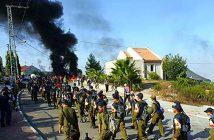 Изгнав евреев, ЦАХАЛ покидает Гуш-Катиф. 2005 г.