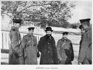Менахем Бейлис под стражей