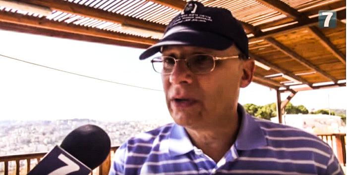 """К. Абрамович в Израиле. """"Аруц7"""""""