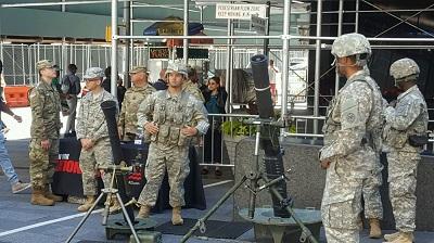 Национальная гвардия США сегодня