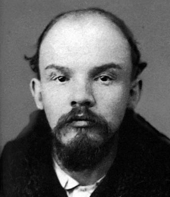 Полицейская фотография В. И. Ульянова, декабрь 1895