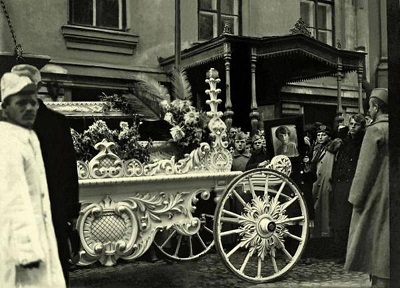 Похороны Инессы Арманд. Москва, 1920