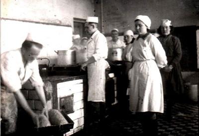 На кухне военного госпиталя