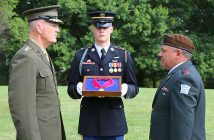 Награждение медалью США начгенштаба ЦАХАЛ генерала Гади Айзенкота