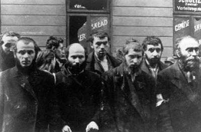Узники Варшавского гетто